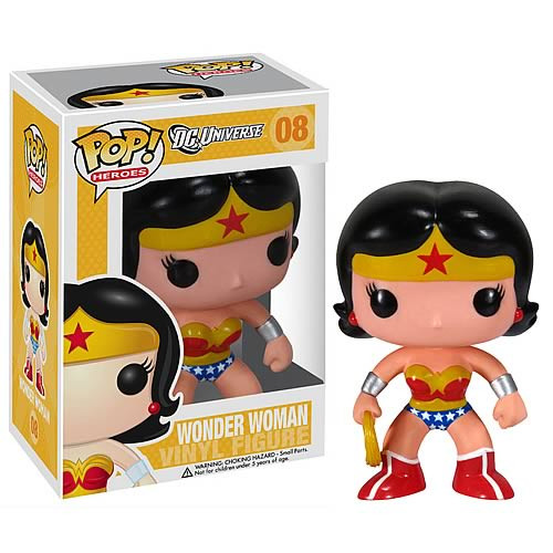 DC Universe Funko POP! Heroes Wonder Woman Vinyl Figure #08