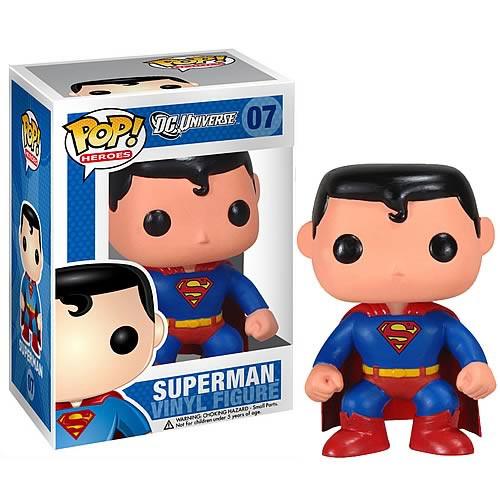 DC Universe Funko POP! Heroes Superman Vinyl Figure #07 [DC Universe]