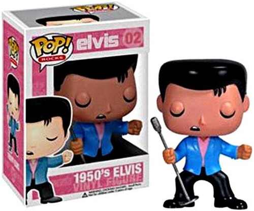 Elvis Presley Funko POP! Rocks 1950's Elvis Vinyl Figure #02