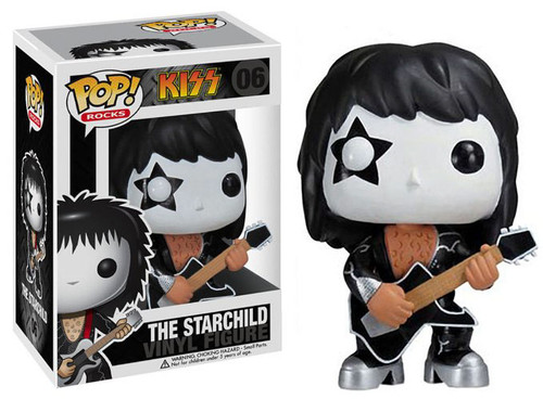 KISS Funko POP! Rocks The Starchild Vinyl Figure #06
