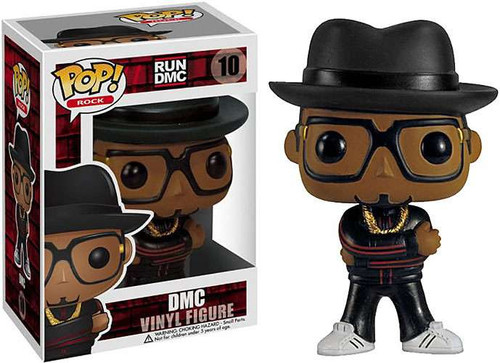 Run DMC Funko POP! Rocks DMC Vinyl Figure #10