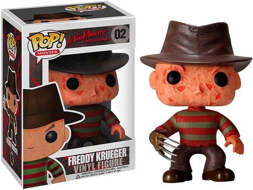 A Nightmare on Elm Street Funko POP! Movies Freddy Krueger Vinyl Figure #02