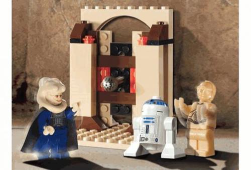 LEGO Star Wars Loose Jabba's Message Set #4475 [Loose, No Minifigures]