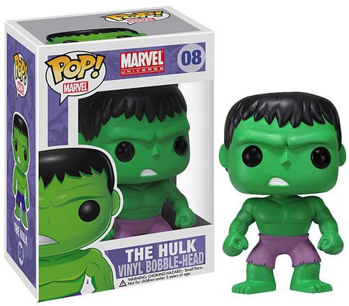 Marvel Universe Funko POP! Marvel Hulk Vinyl Bobble Head #08 [Purple Pants]