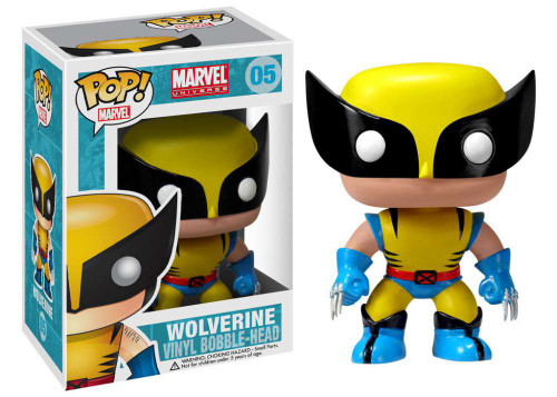 Marvel Universe Funko POP! Marvel Wolverine Vinyl Bobble Head #05