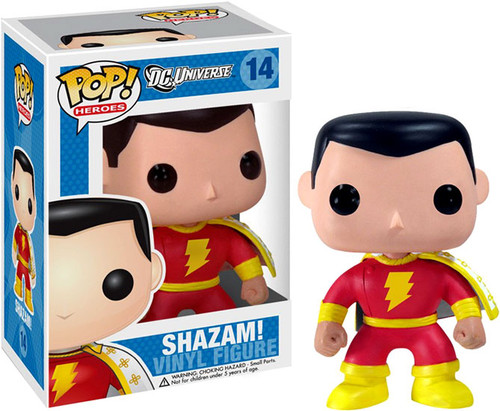 DC Universe Funko POP! Heroes Shazam Vinyl Figure #14