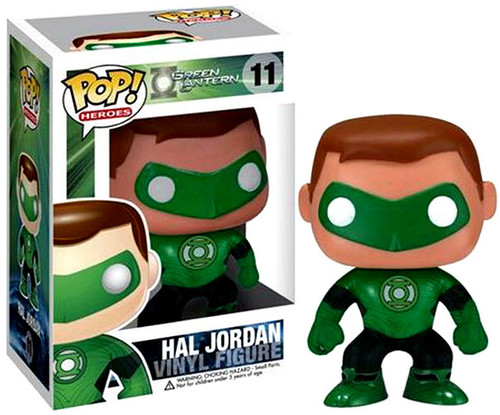 Green Lantern Funko POP! Heroes Hal Jordan Vinyl Figure #11
