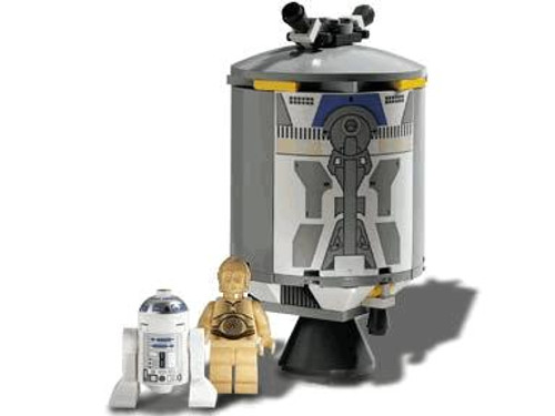 LEGO Star Wars Loose Droid Escape with R2-D2 & C-3PO Set #7106 [Loose]