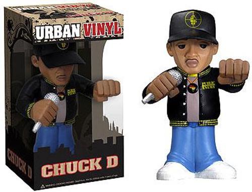 Funko Rocks Urban Vinyl Chuck D. 6-Inch Vinyl Figure [Public Enemy]