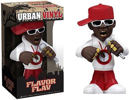 Funko Rocks Urban Vinyl Flavor Flav 6-Inch Vinyl Figure [Public Enemy]
