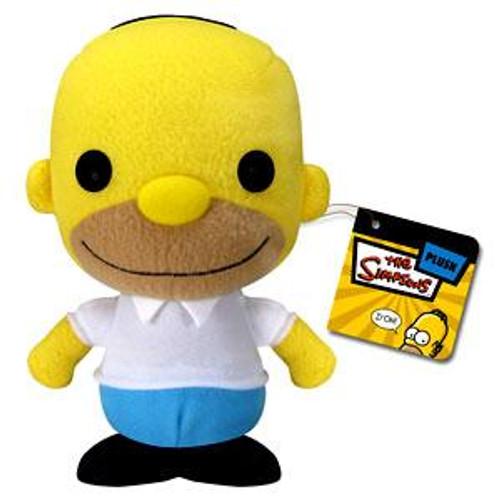 The Simpsons Funko 5 Inch Plushies Homer Simpson Plush