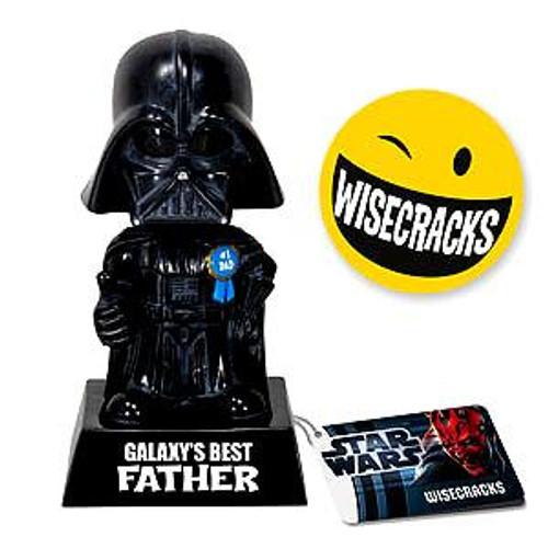 Funko Star Wars Wacky Wisecracks Darth Vader Figure [Galaxy's Best Father]