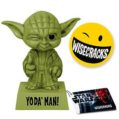 Funko Star Wars Wacky Wisecracks Yoda Figure [Yoda' Man]