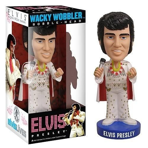 Funko Wacky Wobbler Elvis Presley Bobble Head [Aloha From Hawaii]