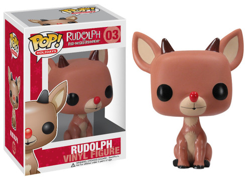Rudolph the Red-Nosed Reindeer Funko POP! Holidays Rudolph Vinyl Figure #03