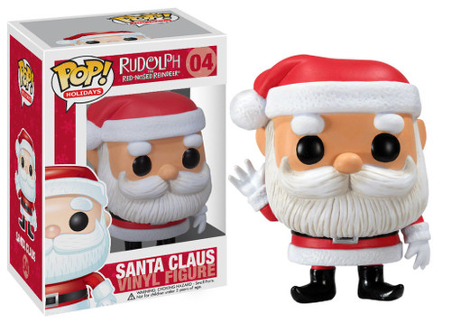 Rudolph the Red-Nosed Reindeer Funko POP! Holidays Santa Claus Vinyl Figure #04