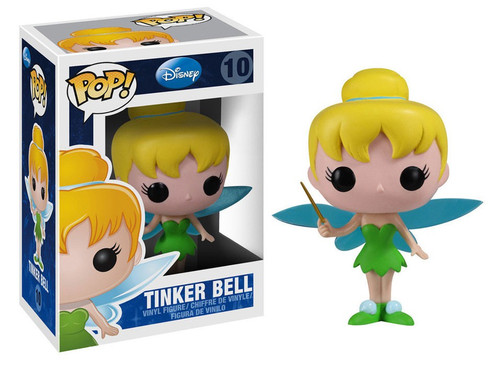 Peter Pan Funko POP! Disney Tinker Bell Vinyl Figure #10