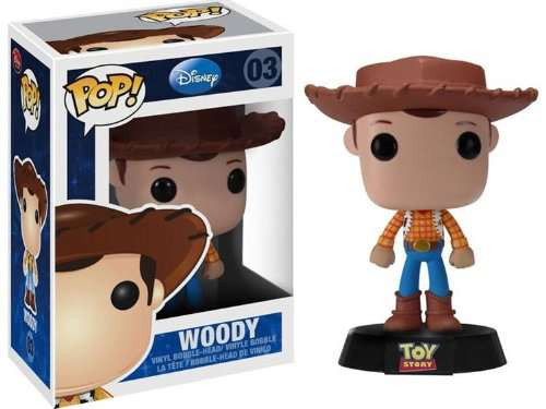 Toy Story Funko POP! Disney Woody Vinyl Figure #03