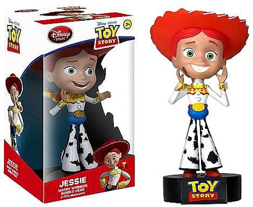 Funko Toy Story Wacky Wobbler Talking Jessie Exclusive Bobble Head