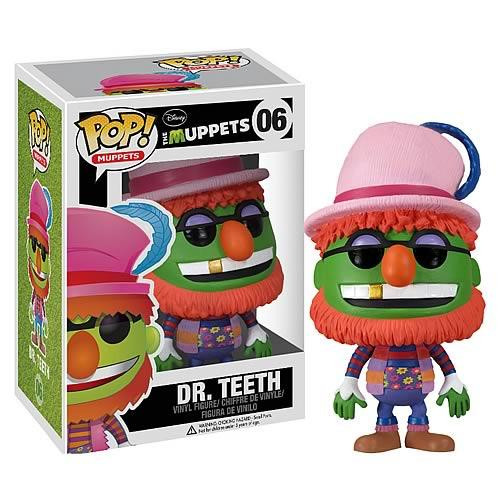The Muppets Funko POP! Television Dr. Teeth Vinyl Figure #06