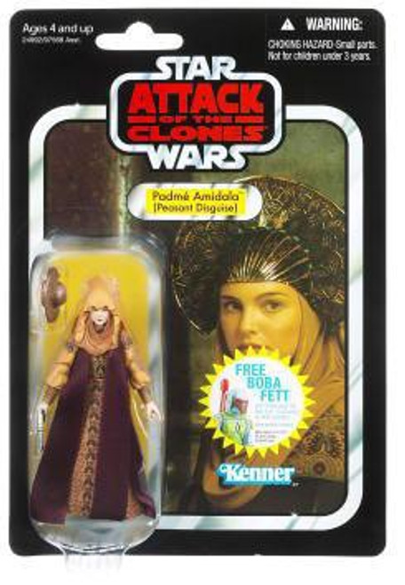 Star Wars Attack of the Clones Vintage Collection 2011 Padme Amidala Action Figure #33 [Peasant Disguise]
