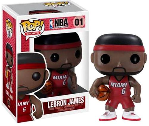 NBA Funko POP! Sports LeBron James Vinyl Figure #01