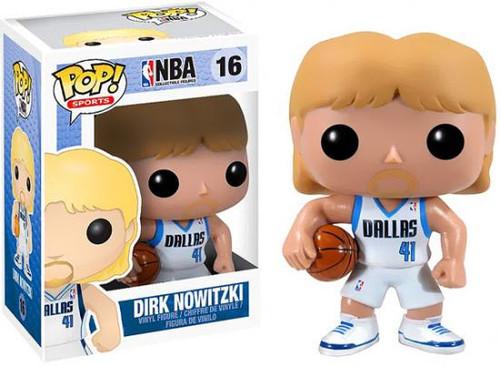 NBA Funko POP! Sports Dirk Nowitzki Vinyl Figure #16