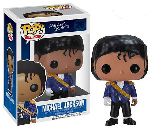 Funko POP! Rocks Michael Jackson Vinyl Figure #26 [Purple Jacket]