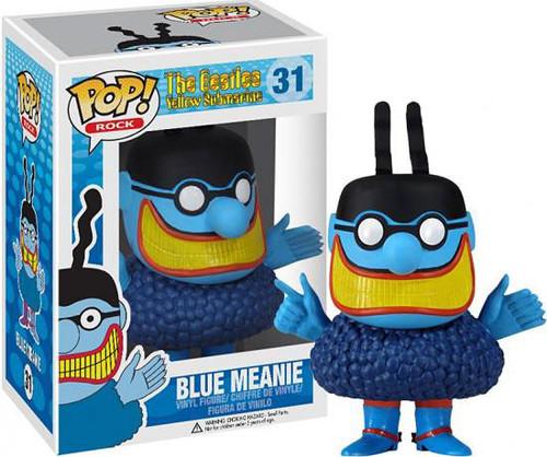 The Beatles Yellow Submarine Funko POP! Rocks Blue Meanie Vinyl Figure #31