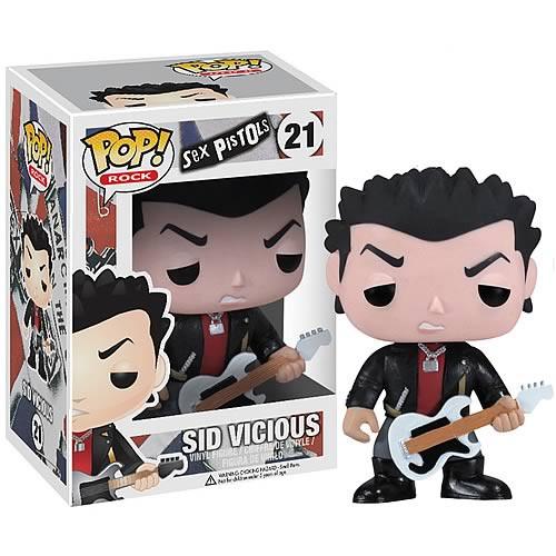 Sex Pistols Funko POP! Rocks Sid Vicious Vinyl Figure #21