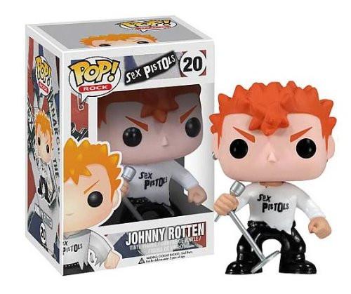 Sex Pistols Funko POP! Rocks Johnny Rotten Vinyl Figure #20