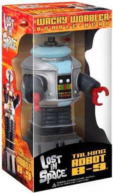 Funko Lost in Space Wacky Wobbler Talking Robot B-9 Bobble Head