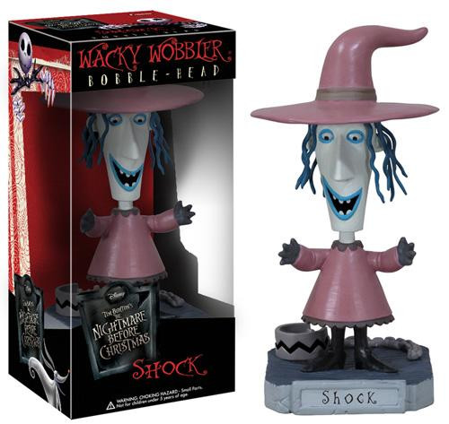 Funko The Nightmare Before Christmas Wacky Wobbler Shock Bobble Head