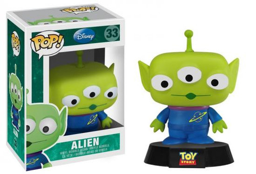 Toy Story Funko POP! Disney Alien Vinyl Figure #33
