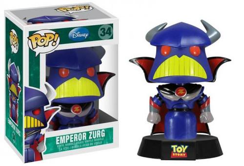 Toy Story Funko POP! Disney Emperor Zurg Vinyl Figure #34