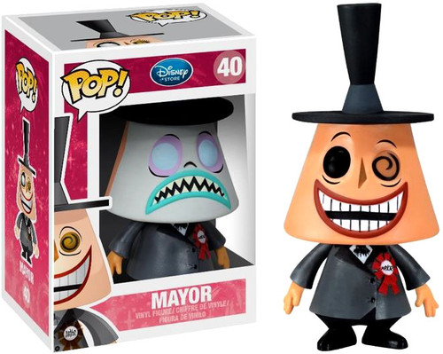 The Nightmare Before Christmas Funko POP! Disney Mayor Vinyl Figure #40