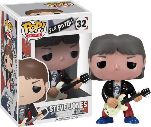 Sex Pistols Funko POP! Rocks Steve Jones Vinyl Figure #32