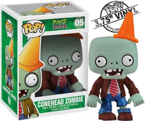 Plants vs. Zombies Funko POP! Games Conehead Zombie Vinyl Figure #05