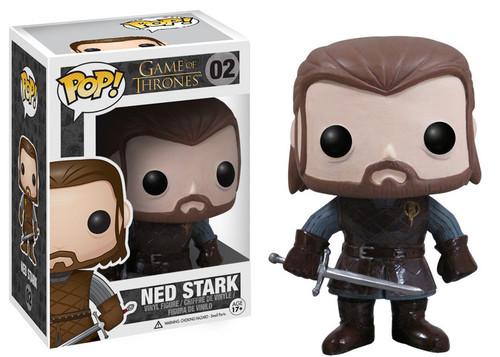 Funko POP! Game of Thrones Ned Stark Vinyl Figure #02 (Pre-Order ships September)
