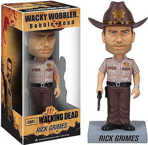 Funko Walking Dead Wacky Wobbler Rick Grimes Bobble Head