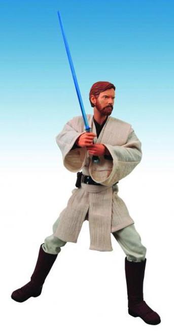 Star Wars Attack of the Clones Ultimate Quarter Scale Obi-Wan Kenobi Action Figure