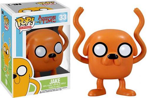 Adventure Time Funko POP! Television Jake Vinyl Figure #33