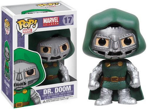Marvel Universe Funko POP! Marvel Dr. Doom Vinyl Bobble Head #17