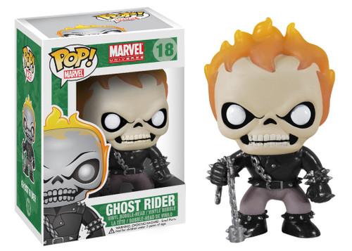 Marvel Universe Funko POP! Marvel Ghost Rider Vinyl Bobble Head #18