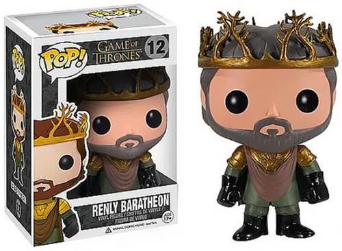 Funko POP! Game of Thrones Renly Baratheon Vinyl Figure #12