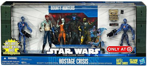 Star Wars The Clone Wars Boxed Sets 2010 Hostage Crisis Exclusive Action Figure