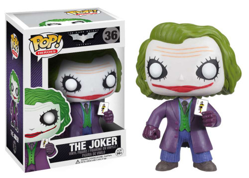 Batman The Dark Knight Funko POP! Heroes The Joker Vinyl Figure #36 [The Dark Knight]
