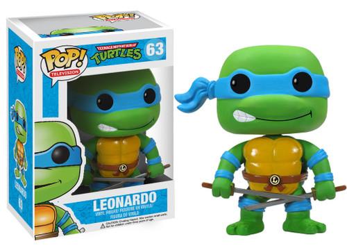 Teenage Mutant Ninja Turtles Funko POP! Television Leonardo Vinyl Figure #63