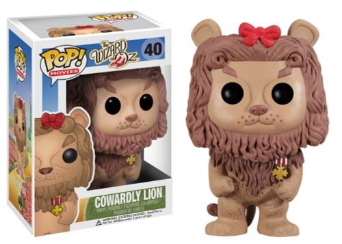 The Wizard of Oz Funko POP! Movies Cowardly Lion Vinyl Figure #40