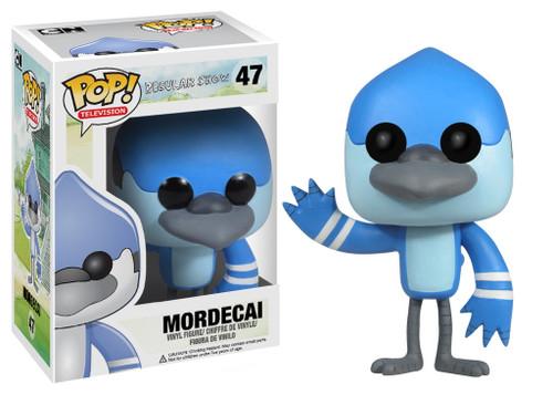 Cartoon Network Regular Show Funko POP! Television Mordecai Vinyl Figure #47